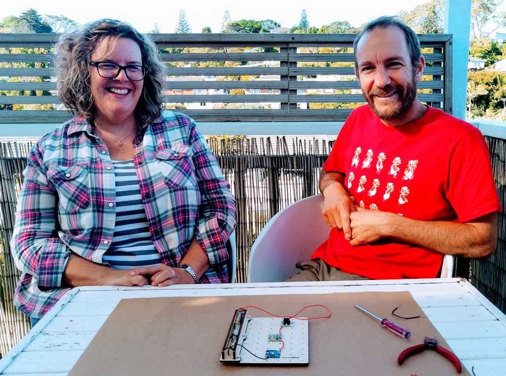 Co-owners of SharperThinker Sophia and Stefan Sharpe