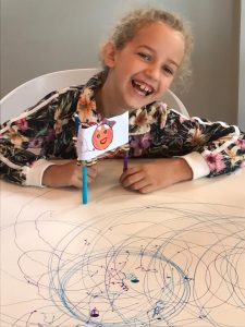 Make a Doodle Noodle Drawbot by SharperThinker.  STEM the fun way.