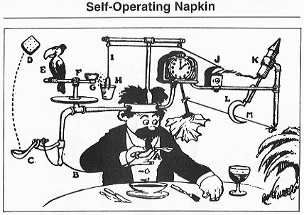 Napkin machine - photo courtesy of Wikipedia