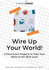 A free eBook designed for young learners and their teachers.  Example circuit drawings and diagrams included as well as 5 original projects.