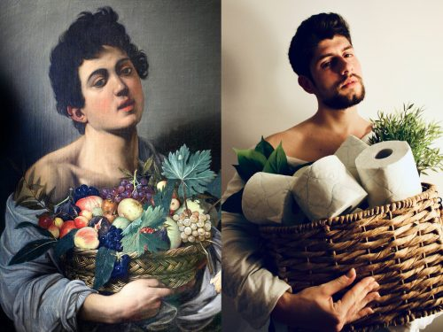 The NY Times challenged it's readers to re-create old masters.  Why not do the same this Fathers Day 2020?